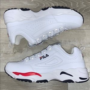 Fila Disruptor 2 X-Ray Tracer Red white Blue